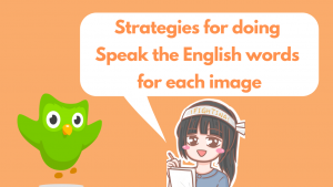 Speak the English words for each image